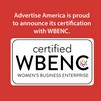 Advertise America receives WBENC Certification